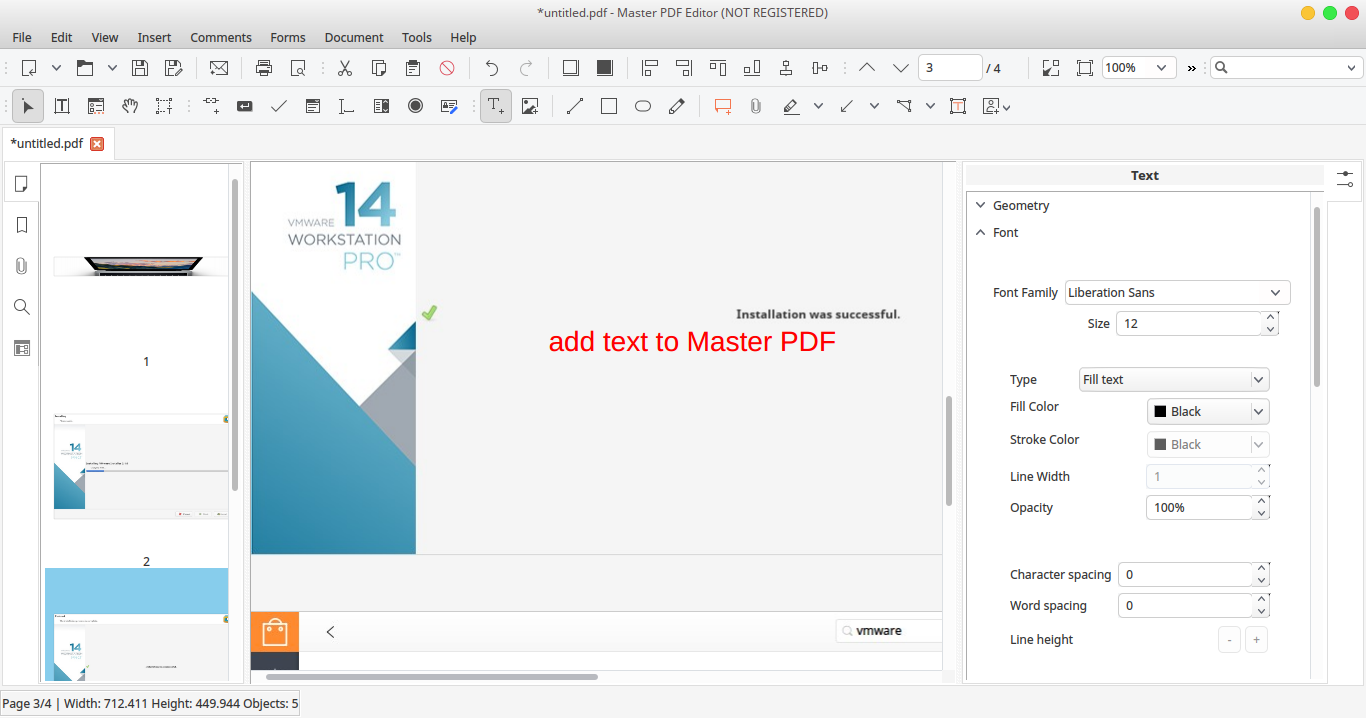 Master PDF Editor for Linux 5 0 - The Best PDF Editor for Linux